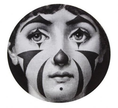 Fornasetti Wall Plate T & V 122